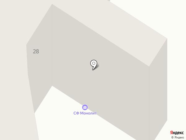 Банкомат, Марфин Банк на карте Ильичёвска