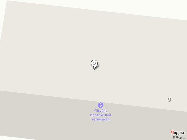 Ильичёвское морское экспедиторское агентство на карте Ильичёвска