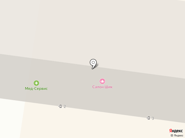 Резидент на карте Ильичёвска