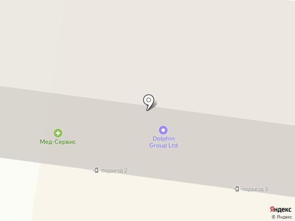 Салон оптики на ул. Данченко на карте Ильичёвска