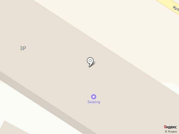 Кристалл на карте Ильичёвска