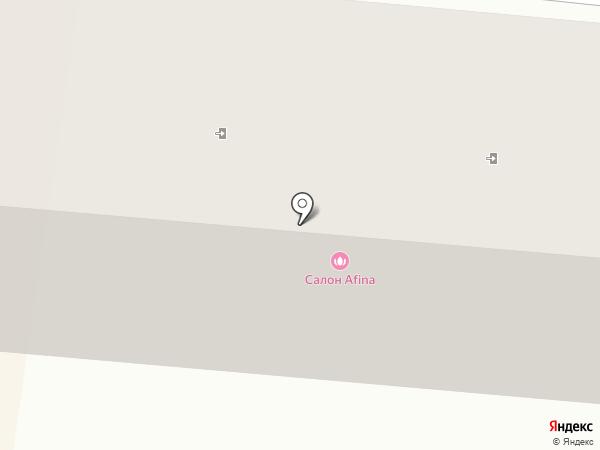 Afina на карте Ильичёвска
