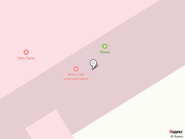 Into-Sana на карте Ильичёвска