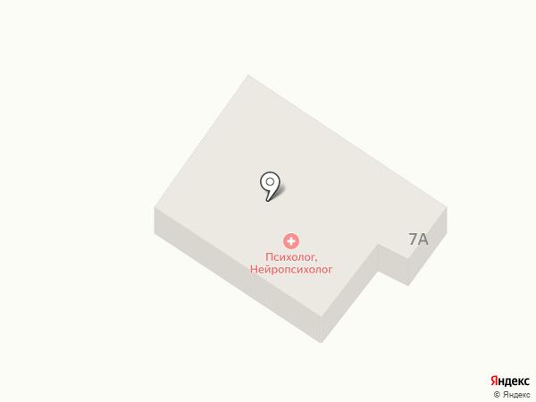 Полана на карте Ильичёвска