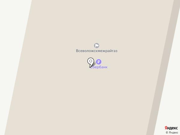 Газпром газораспределение Ленинградская область на карте Всеволожска