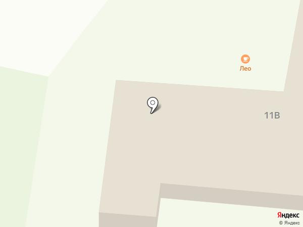 Лео на карте Ильичёвска