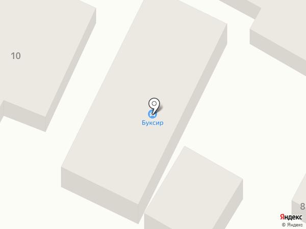 Буксир на карте Усатово