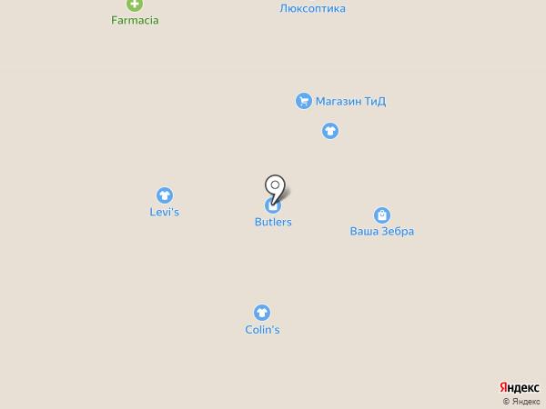 Дочки и сыночки на карте Одессы