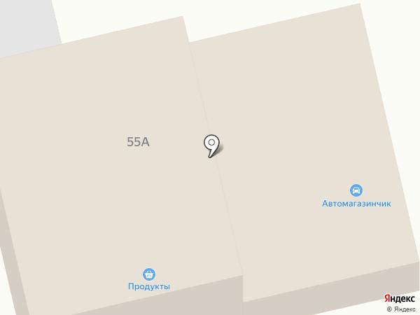 Автомагазинчик на карте Всеволожска