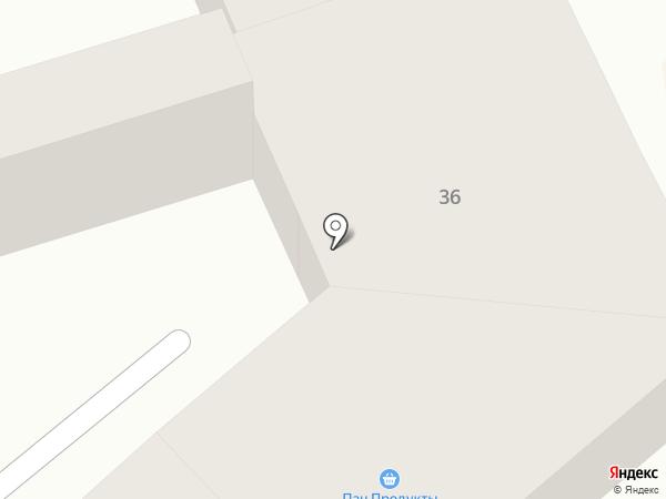 Пан на карте Одессы