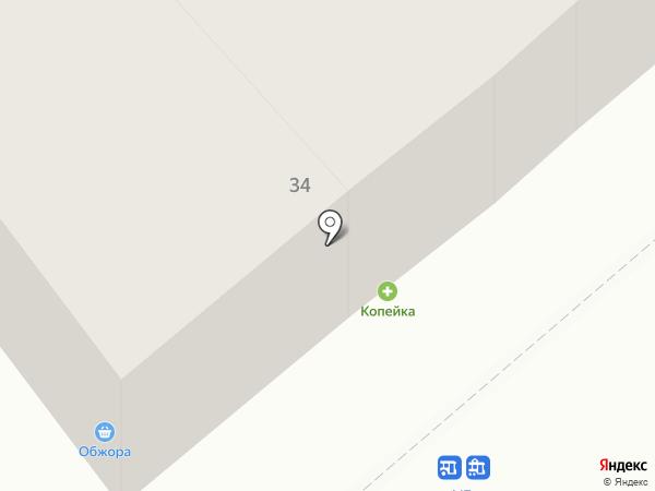Компания по прокату автомобилей на карте Одессы