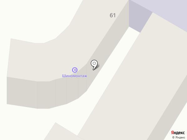 Шинный центр на карте Одессы