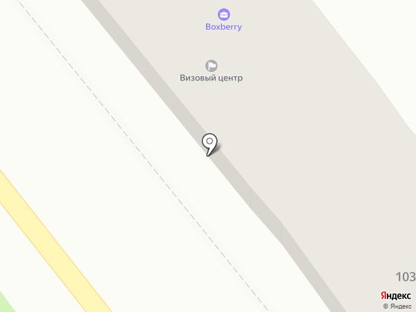 FedEx на карте Одессы