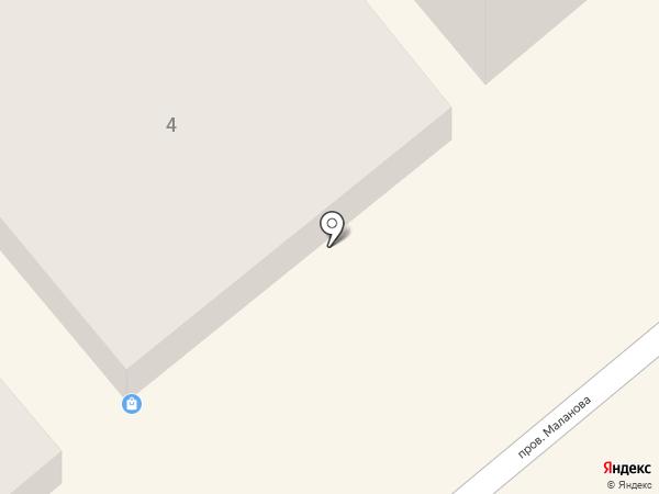 Эваз на карте Одессы