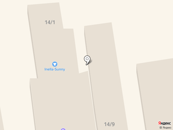 Inella-Sunny на карте Одессы