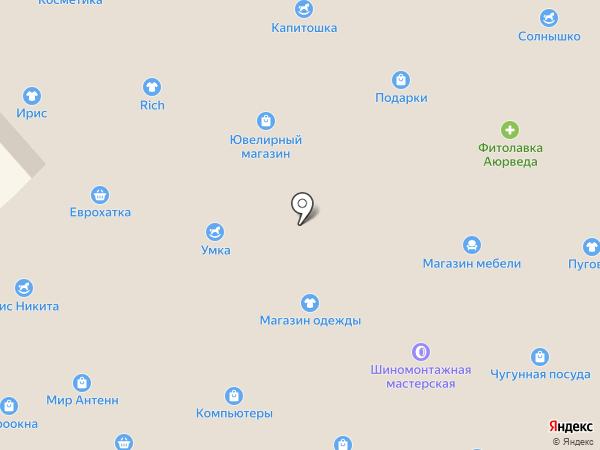 Сладости на карте Одессы