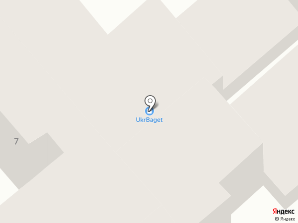 UkrBaget на карте Одессы