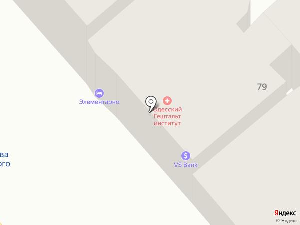 Elementary на карте Одессы