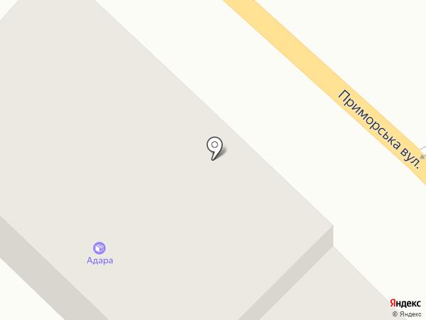 Автономера на карте Одессы