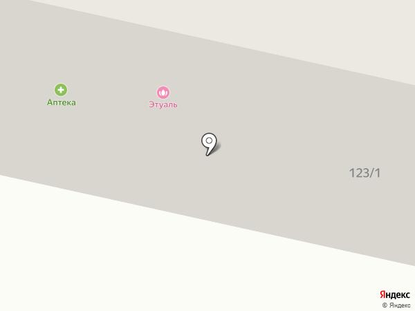 Пентальфа на карте Одессы