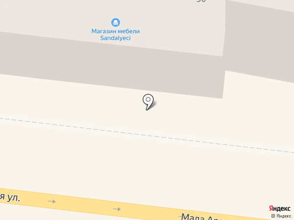 Sandalyeci на карте Одессы