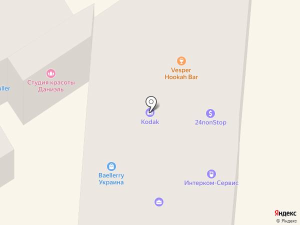 Vesper на карте Одессы