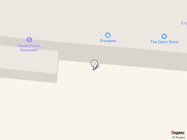 КБ АкордБанк, ПуАТ на карте Одессы
