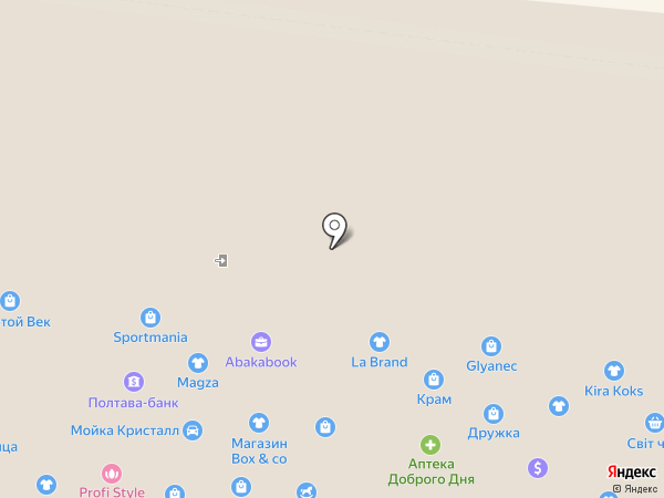 Ателье-мастерская на карте Одессы