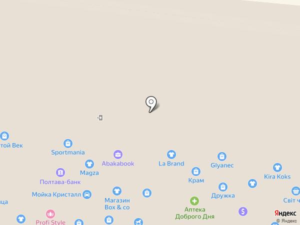 LATIKA на карте Одессы