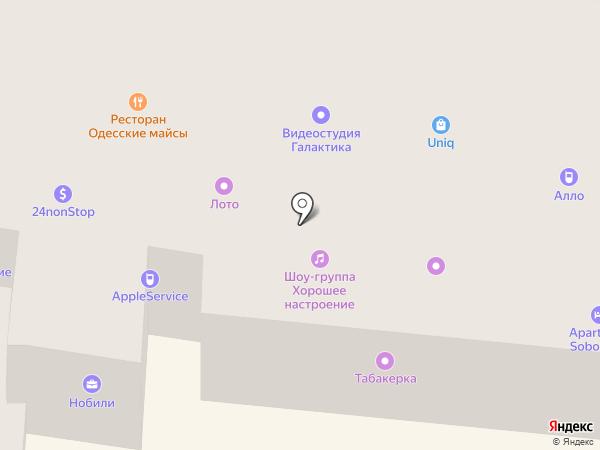 Нобили на карте Одессы