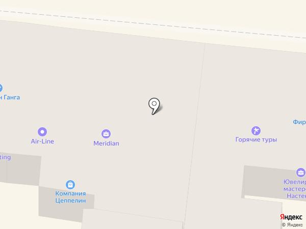 Meridian на карте Одессы