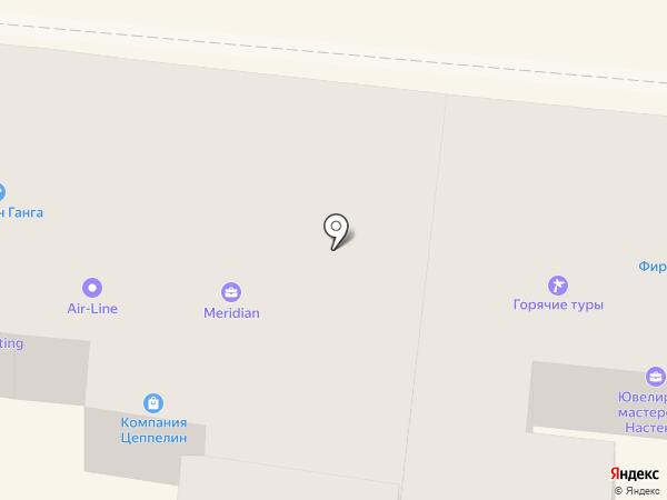 Вива на карте Одессы