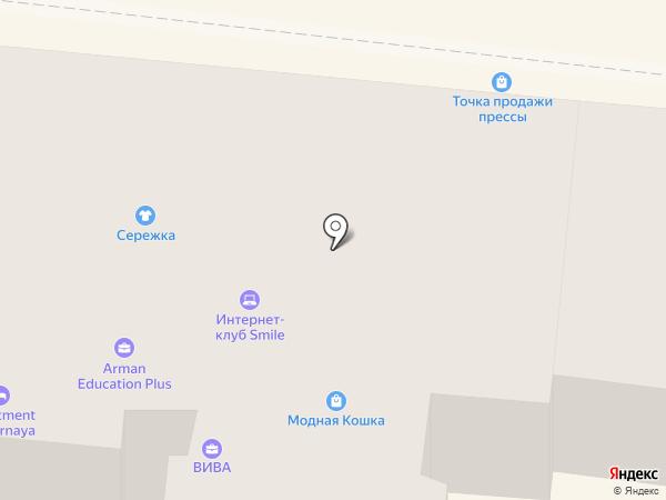 Хлебушкин на карте Одессы