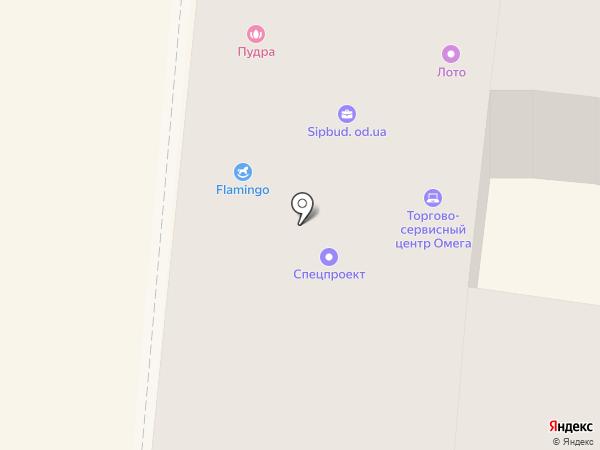 Vodafone на карте Одессы