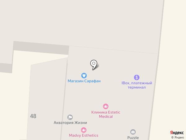 Puzzle на карте Одессы
