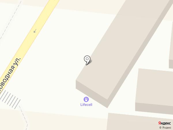 Lifecell на карте Одессы