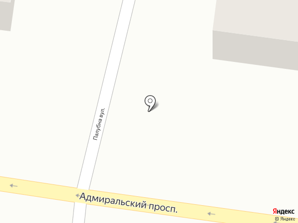 Кошик на карте Одессы
