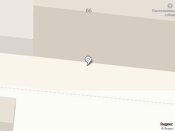 Паломническая гостиница на карте Одессы