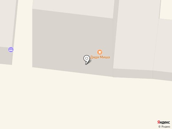 Дядя Миша на карте Одессы