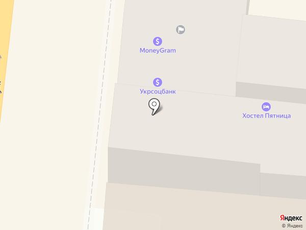 Терминал самообслуживания, UniCredit Bank, ПАО Укрсоцбанк на карте Одессы