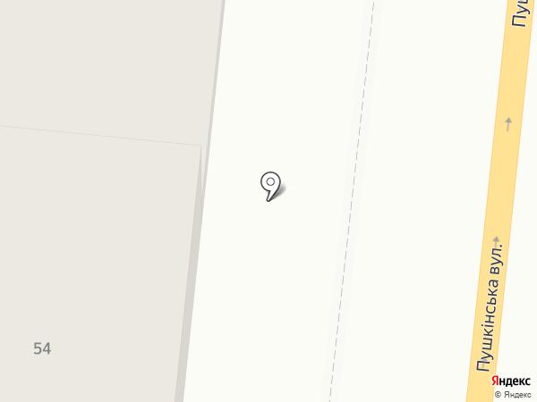 Komod на карте Одессы