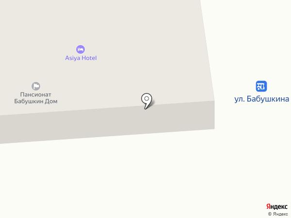 Asiya Hotel на карте Одессы