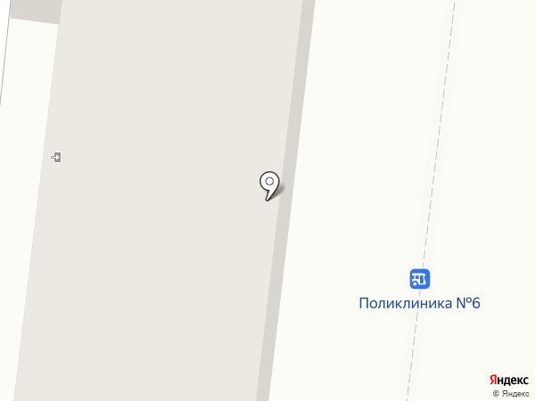 Центр первичной медико-санитарной помощи №2 на карте Одессы