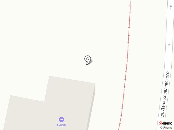 Gosti на карте Одессы