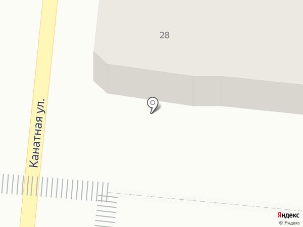 GoEat на карте Одессы
