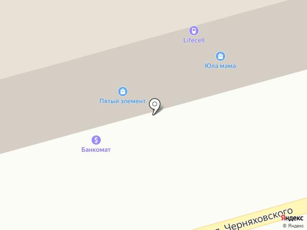 J`erelia на карте Одессы