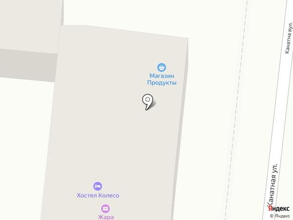 Velik на карте Одессы