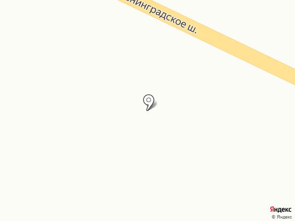 Вельбот на карте Отрадного