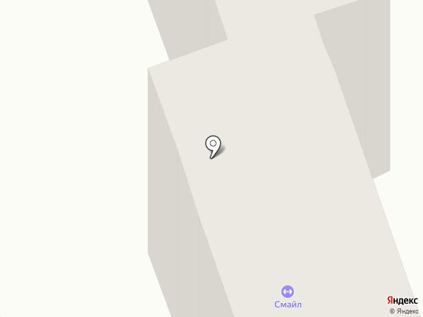 Смайл на карте Одессы