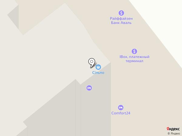 Comfort24 на карте Одессы